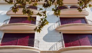 Detalle balcones amables
