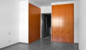 Detalles armarios empotrados en habitaciones